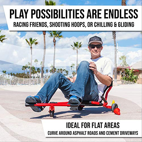 EzyRoller New Drifter-X Ride on Toy for Ages 6 and Older, Up to 150lbs. - Green