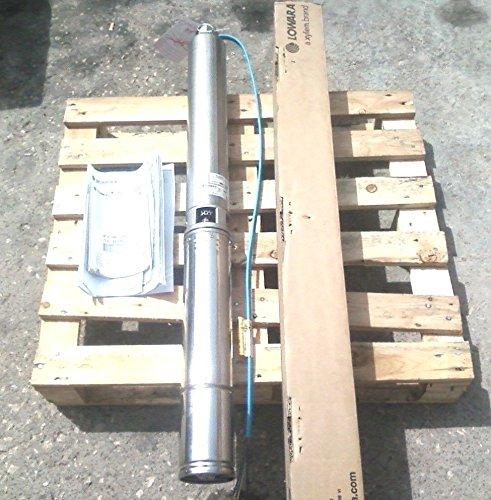 "Lowara GS Pompa Sommersa 4"" Pozzo 4GS22M-4OS 2,2kW / 3HP / 1x220-240V 50Hz"