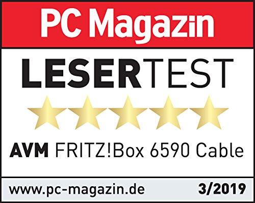 AVM FRITZ!Box 6590 Cable WLAN AC + N Router (DOCSIS-3.0-Kabelmodem, Dual-WLAN AC+N mit 1.733 Mbit/s (5 GHz) + 800 MBit/s (2,4 GHz), VoIP-Telefonanlage) - 9