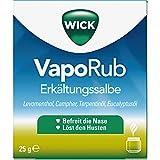 Wick VapoRup Erkältungssalbe, 25 g Ungüento