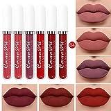LEEDY 18 Farbe Lipgloss 6 Box Set Matt Wasserdicht Langlebiger Lippenstift Geburtstag Set Makeup Cosmetics
