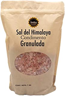 1 kilo de Sal del Himalaya Granulada | Sal Rosa del Himalaya