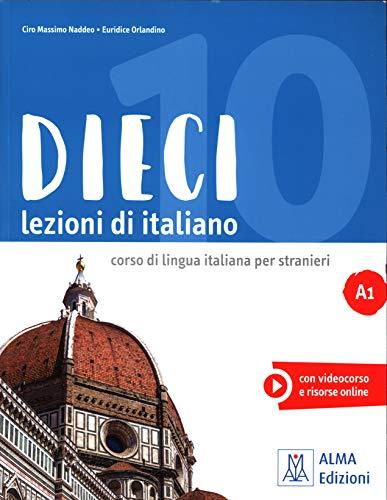 Dieci. Lezioni di italiano. A1. Con DVD-ROM: Libro + DVD-ROM A1