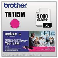 Brother tn115mトナーカートリッジ、高Yield、マゼンタ