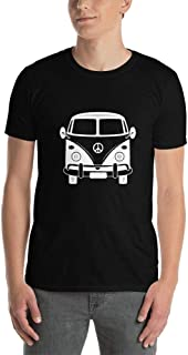 Men's Vintage Car Lovers Classic Volkswagen Bus T-Shirt