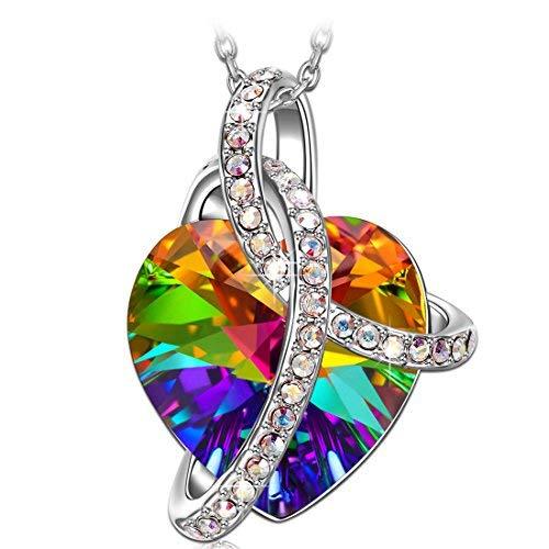 J. RENEÉ Cadeau d amour Collier Femme, Cristaux de Swarovski, Bijoux Femme d48c006d80a0