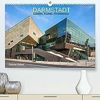 Darmstadt - Gaerten, Kunst, Architektur (Premium, hochwertiger DIN A2 Wandkalender 2022, Kunstdruck in Hochglanz): Kunstvolle Fotografien einer kunstvollen Stadt (Monatskalender, 14 Seiten )