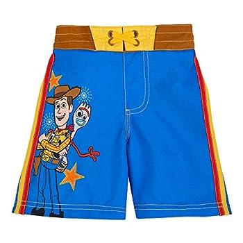 Disney Pixar Woody and Forky Swim Trunks for Boys - Toy Story 4 - Size 5/6