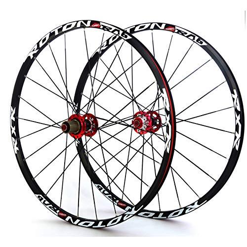 TYXTYX BMX 24' Wheel Set Folding Bike Bicycle Wheelset Double-Walled Aluminum Rim Disc Brake Sealed Bearing Carbon Fiber Hub QR 8/9/10 Speed