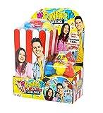 McT Me Contro Te Popcorn Challenge con Bracciale Ciondolo Angelo + portachiave Girabrilla e Penna Colorata
