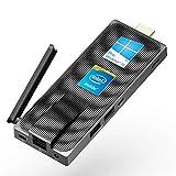 MeLE Mini PC sans fil Intel Celeron J4125 Quad Core 8 Go 128 Go 4 K sans fil Mini PC Windows 10 Pro MeLE PC Stick Mini Ordinateur HDMI WiFi LAN