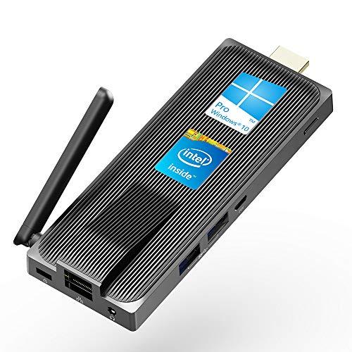 MeLE Fanless Mini PC Celeron J4125 Quad Core 8GB 128GB 4K Fan-less Mini PC Windows 10 Pro MeLE PC Stick Mini Computer HDMI WiFi LAN