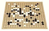 Cfbcc Internacional de Ajedrez, Ajedrez Estándar IR Uso for Match 19 Línea 361pcs Pieza de ajedrez Juego de ajedrez IR Diámetro 2,2 cm de Piel Tablero de ajedrez Bolsa de Tela Weiqi Juguete