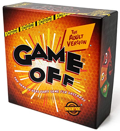 Game Off – The Adult Version. A Party Game of Twisted Battles