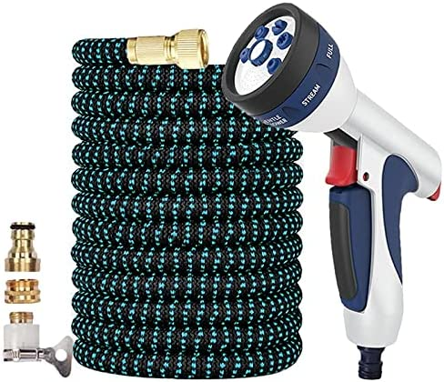 YSJJVDS Hose Luxury goods Pipe New Garden Spray Rapid rise Watering Teles Gun Magic