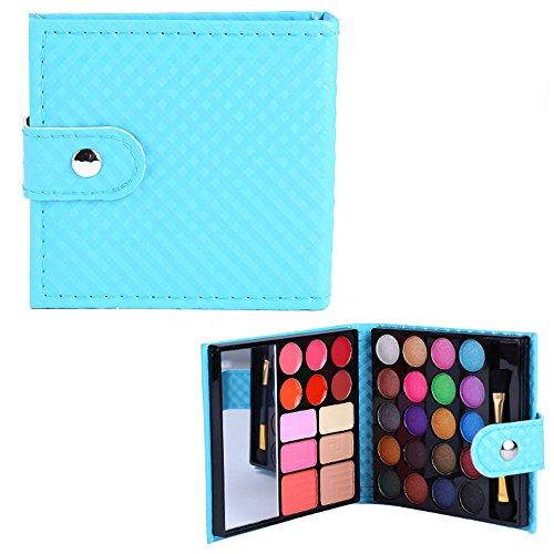 PhantomSky 32 Farben Lidschatten Palette Makeup Kit mit Lipgloss Concealer und Rouge #2 - Perfekt für Profi-und tägliche