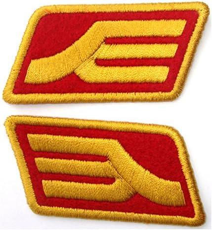 Gundam Portland Mall trend rank Zeon Rank Insignia Patch Red Color
