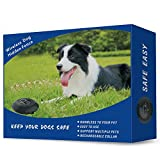 Wireless Fence for Dogs - Rechargeable and Waterproof Shock Collar - Electric Pet Fence for Stubborn Dogs - Large Coverage Area up to 5 Acres - 100% Safe Pet Wireless Containment System (1 Dog)