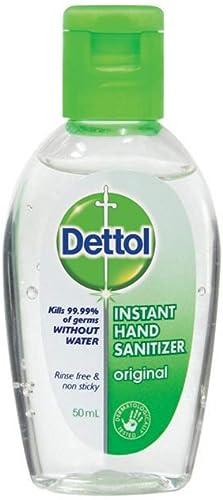 Dettol Instant Hand Sanitizer 50ml product image