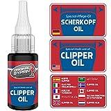 SYPRIN aceite de cabeza de afeitado - lubricante universal para máquinas de...