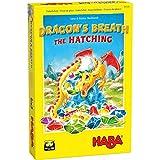 HABA 305300 - Dragon's Breath The Hatching - A Sparkling Stone Collection Spiel ab 6 Jahren Englische Version (Made in Germany)