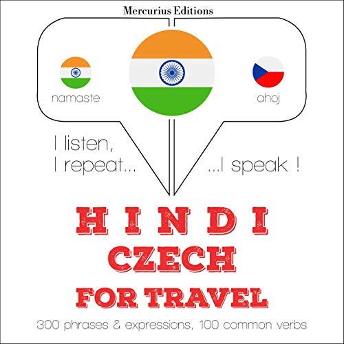 Hindi - Czech. For travel cover art