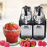 Cerobit Hielo Slushies Machine, Comercial Slushy Cafetera, Bebida congelada Juice Dispenser TKX-2.5L (2x2.5L, 300W, Temperatura Rango -2 hasta -3ºC)