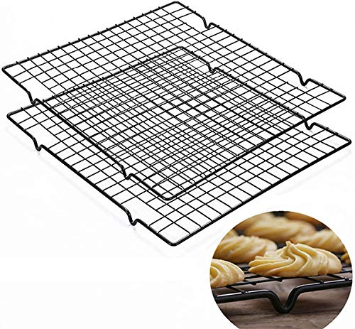 Cooling Racks for Baking, Stainless Steel Wire Rack Baking Rack Oven Rack Cookie Rack (2pack-11.02'')