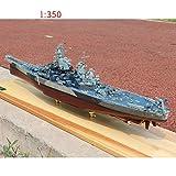 Modèle de simulation de bateau, 1 350 Échelle King George V classe Warcraft Modèle plastique, assembler Ship Model 1/350 Missouri 72 X 10 X 18 cm WKY ( Color : 1/350 Missouri , Size : 72 x 10 x 18cm )