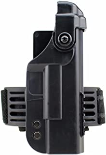Fantasia Tactical Military Right Drop Leg Thigh Automatic Lock Pistol Holster forGlock 17 18 19 21 22 26 30
