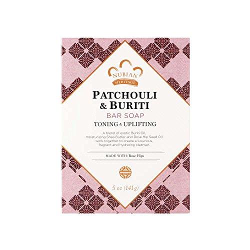 Patchouli Buriti Savon, 5 oz (141 g) - Patrimoine Nubian