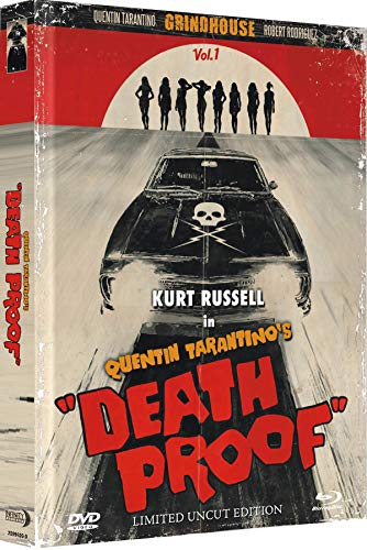 Death Proof - Mediabook wattiert - Limited Uncut Edition auf 333 Stück (+ DVD) [Blu-ray]