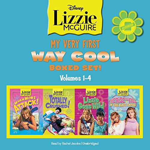 Lizzie McGuire: Books 1–4 cover art