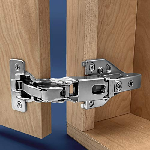 Apollo Direct (1 Pair) Lazy Susan Corner Cabinet Hinges Soft Close Full Overlay (165 Degrees)