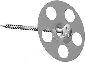 LUX ELEMENTS FIX-SB 45S35 LFIXZ1112, schroef + sluitring 35 mm diameter, 50 stuks, zilver