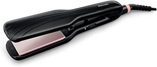 PHILIPS Essential Care 1.75-Inch Extra Wide Hair Straightener. Ionic care. 210°C styling temperature. 3 pin, HP8325/13. 2...