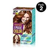 Pure Color de Schwarzkopf Tono 7.57 Toffee Addiction - 2 uds - Coloración Permamente