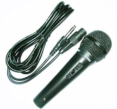Switched Plastic Bodied Vocal Microphone with 3 m XLR to XLR Lead