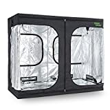 oneConcept Eden Grow XL - Tenda per Coltivare, Growbox, Armadio Grow, 240 x 120 x 200 cm, ...