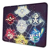 Date A Live Spirts 2020 Anime Non-Slip Mousepad Gaming Computer Mouse Pad Gaming Desktop Laptop Mouse Pad with Stitched Edge 10x12 in