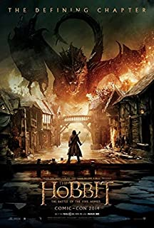 The Hobbit: The Battle of the Five Armies Movie Poster 11 x 17 Style B (2014) Unframed