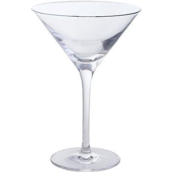 Dartington Bar Excellence Lead Crystal Set Of 2 Martini Glasses