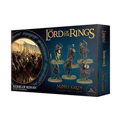 Games Workshop Herr der Ringe Reiter von Rohan MiddleEarth Rohirrim Lord of The Rings