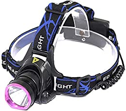 yywl LED Frontale Torches 1000 Lumens LED Recharge