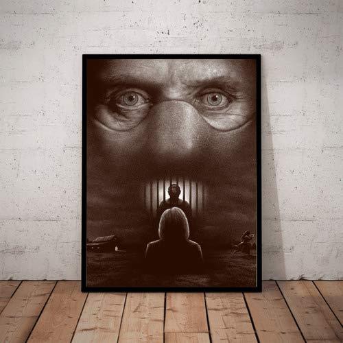 Quadro O Silencio Dos Inocentes Arte Simplista Hannibal
