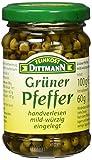 Feinkost Dittmann Grüner Pfeffer, 6er Pack (6 x 60 g)