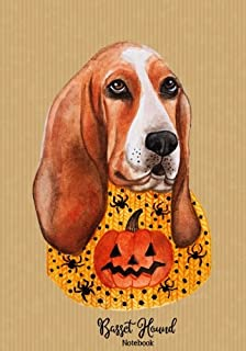 Basset Hound Notebook: Perfect Basset Hound Gifts for Women & Men: Dog Lovers Journal with 110+ Lined Pages (Dog Notebooks and Journals) (Volume 1)