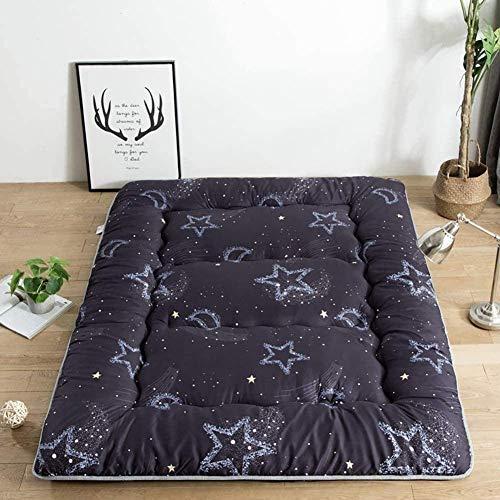 Doppelte Einstöckige Matratze Japanischer Student Schlafsaal Klappmatratze Futon Bodenmatratze Tragbare Camping Matratze Kissen Für Kinder Bett Kinderbett Bett Kinderbett, Dicke: 10 Cm,F-90x200 Cm