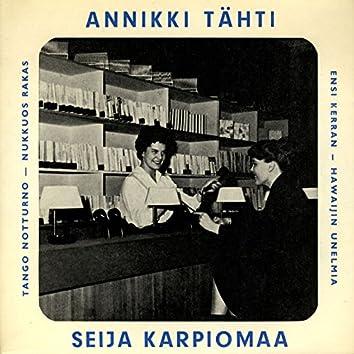 Annikki Tähti ja Seija Karpiomaa
