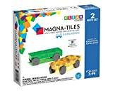 Magna-Tiles Cars Expansion Set, The Original Magnetic Building Tiles For Creative Open-Ended Play, Educational Toys For Children Ages 3 Years + (2 Pieces)